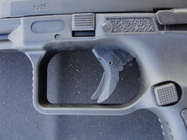 The TP9 SA trigger with extended trigger safety.