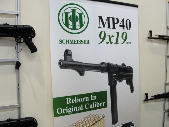 GSG's add for the MP-40 in 9mm.
