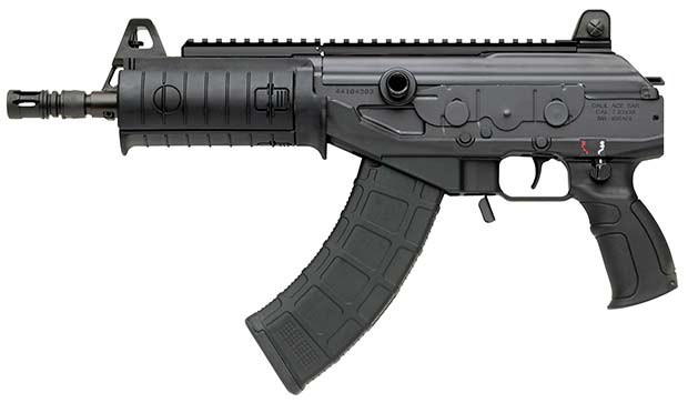This is the 7.62x39 version of the Galil Ace. No photos exist of the 7.62 NATO version, but it is expected to be similarly configured.
