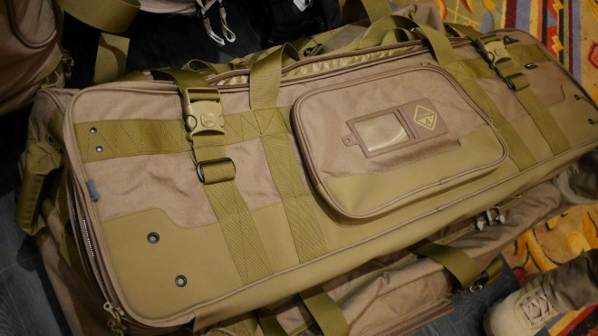 The brand new Hazard4 double rifle case.