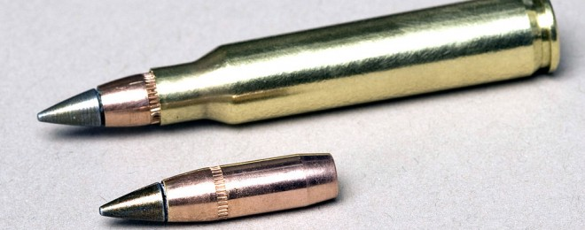 The lead-free M855A1 5.56mm cartridge.