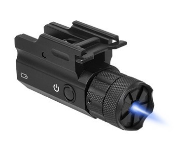 The NC Star Compact Blue Laser with QD release lever.