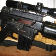 An Armalite AR-180 made by Sterling is in most ways superior to current issue assault rifles that cost twice as much.
