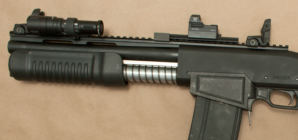 Close up of the SAP-6 Pump and Light Mount