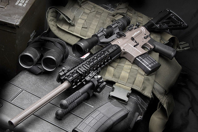 Dubbed the urban super sniper wilson combat is selling an ar style
