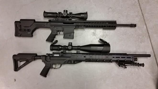 "The Armada compared to a 18"" .308. Its a long air rifle."