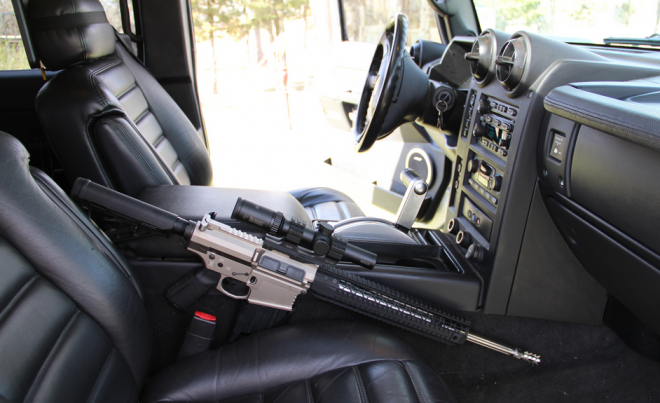 Discrete Defense Solutions Launches 308 Rifle Truck Mount