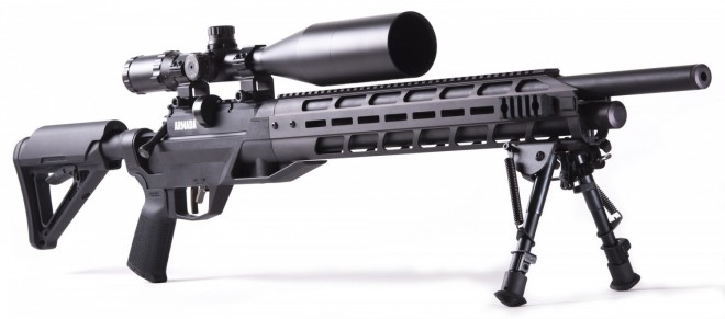 Gun Review: Benjamin Armada MagPul Edition  22 Air Rifle