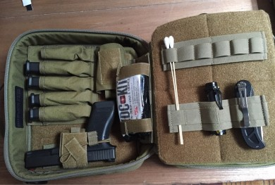 Pistol Case with Glock 17