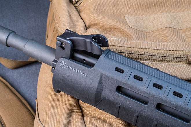 Granted That Magpul Has Clearly Stated That The MOE SL Handguardu0027s Top  Cutout Only Clears The Stock A2 Front Sight Base. I Have Encountered A  Small ...