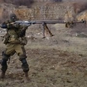 Russian rifle off hand