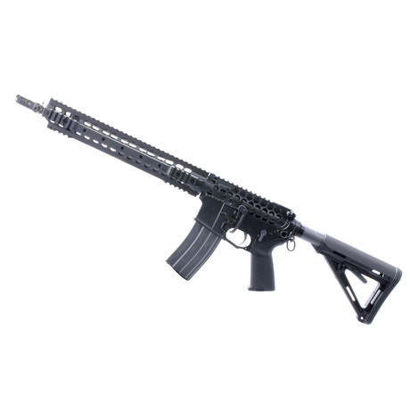 Skeletonized AR Upper Receiver full rifle