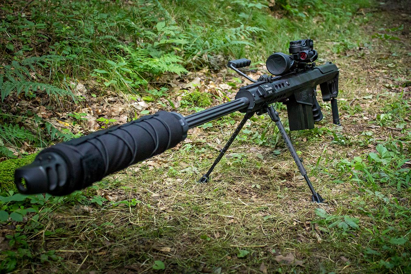 POTD: Fun in the woods with the Barrett M107A1 - The ...
