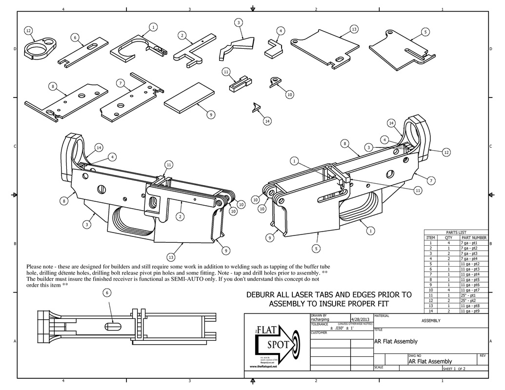 Weld your Own AR-15 from Flat Spot -The Firearm Blog
