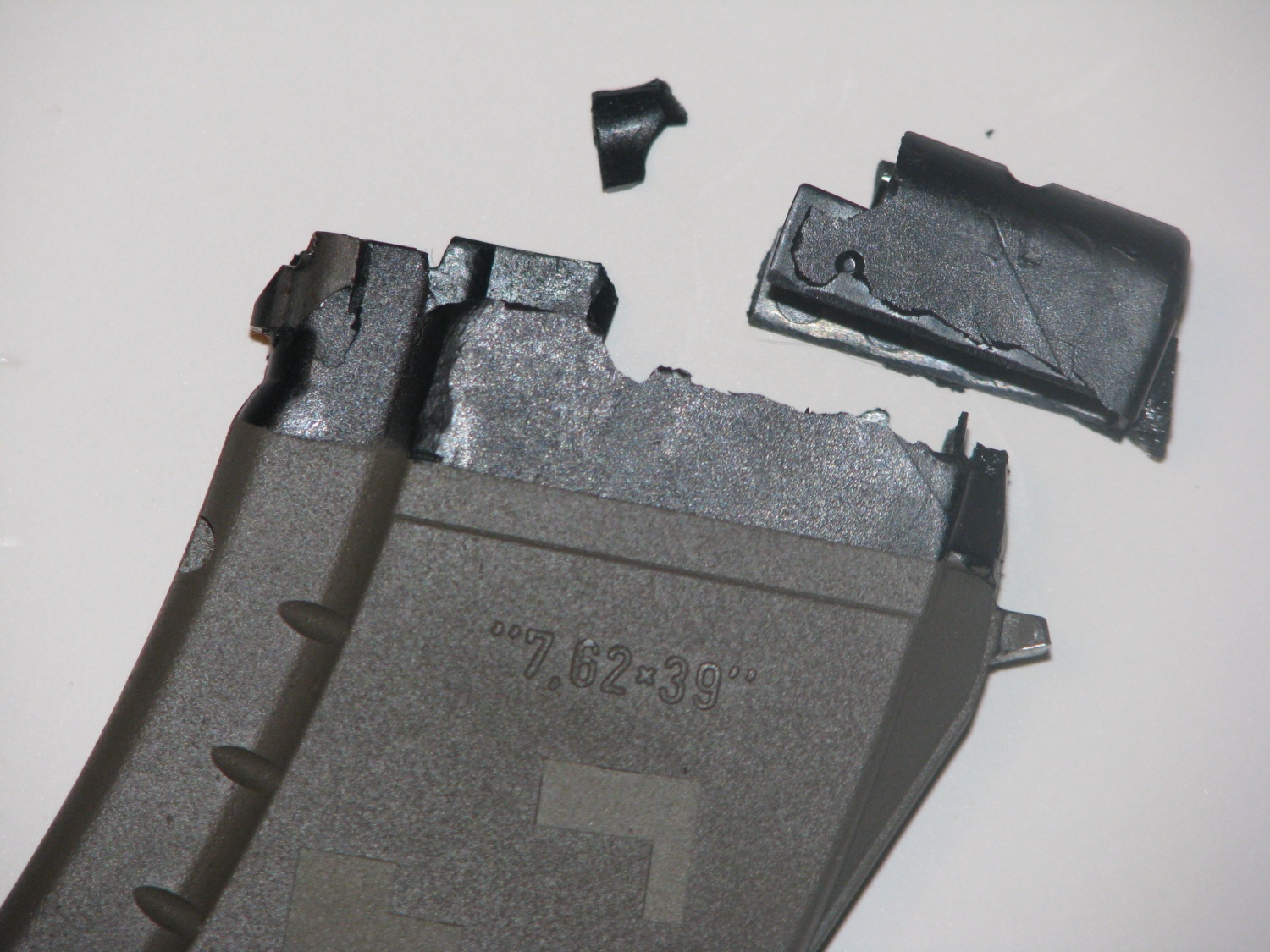 Explosive Failure Of Polymer Ak Magazines From Sitting