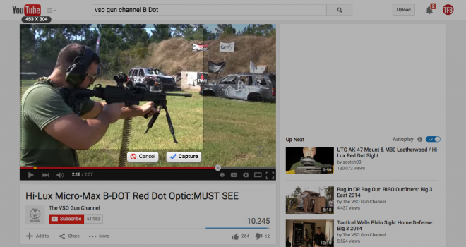 Hi Lux Micro Max B DOT Red Dot Optic MUST SEE   YouTube