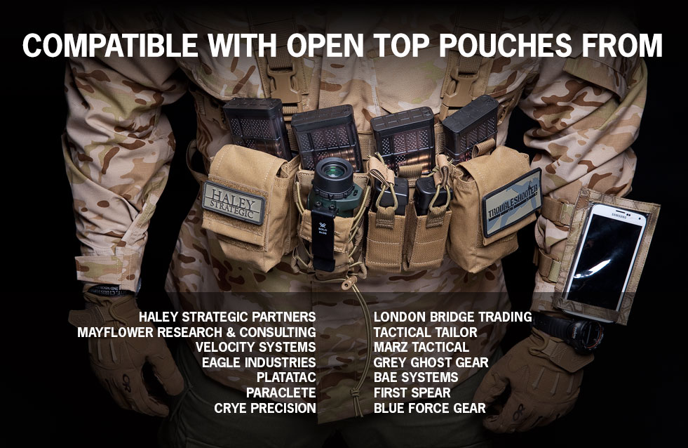 With some jerry rigging, users could probably double inserts for double magazine pouches.