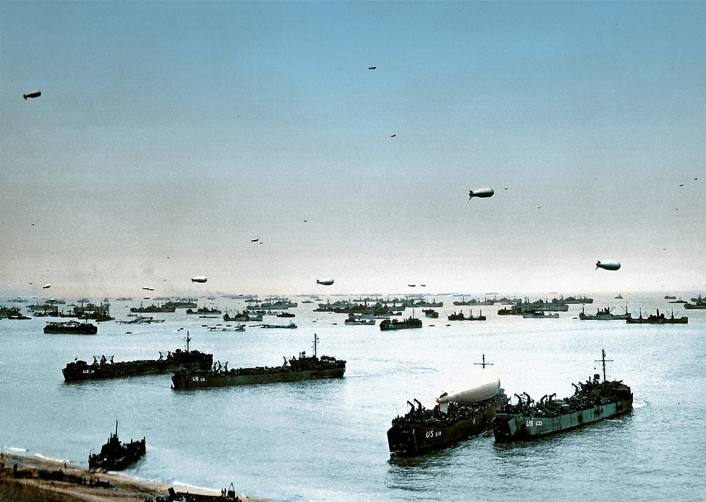 D Day Invasion Boats D-Day +71 Years, The I...