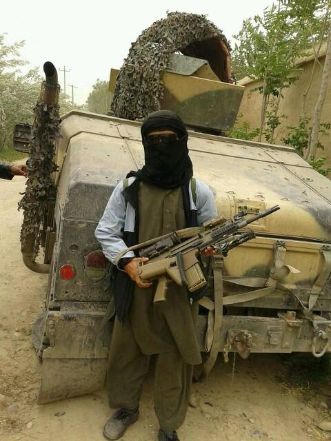 Taliban Fighters In Kunduz Afghanistan Spotted Using
