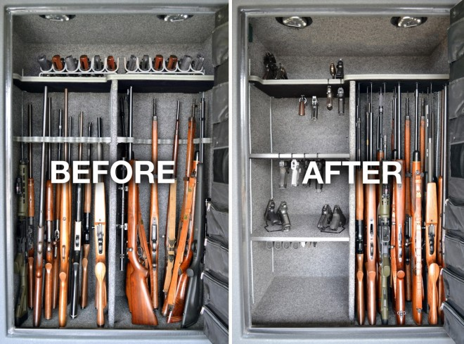 Gun Storage Solutions Helps You Maximize Storage The Firearm Blogthe Firearm Blog