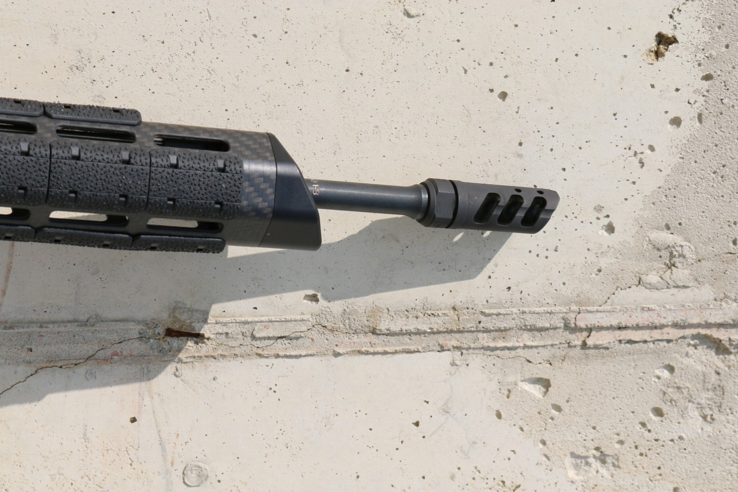 Looks great on the tip of a 3-gun oriented barrel.