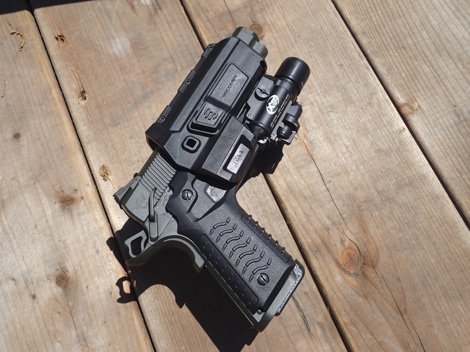 Review Recover Tactical Cc3h Grip And Hc11 Holster The