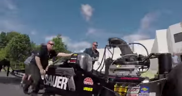 SIG Sponsored Top Fuel Rail Dragster! -The Firearm Blog
