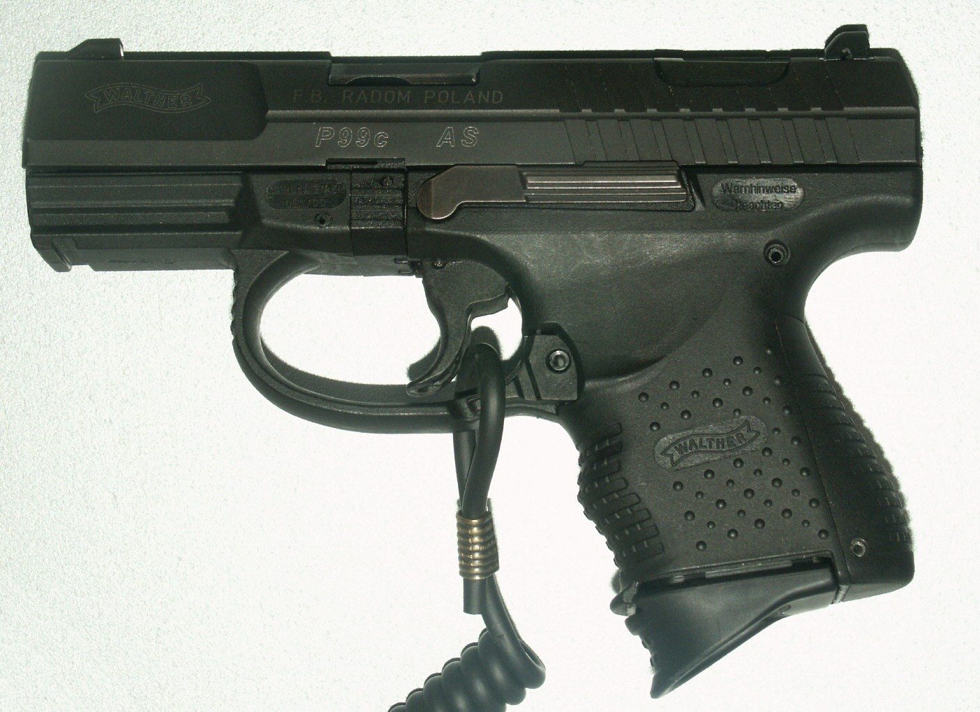 The Polish P99 AS made in Poland. Source- Wikipedia