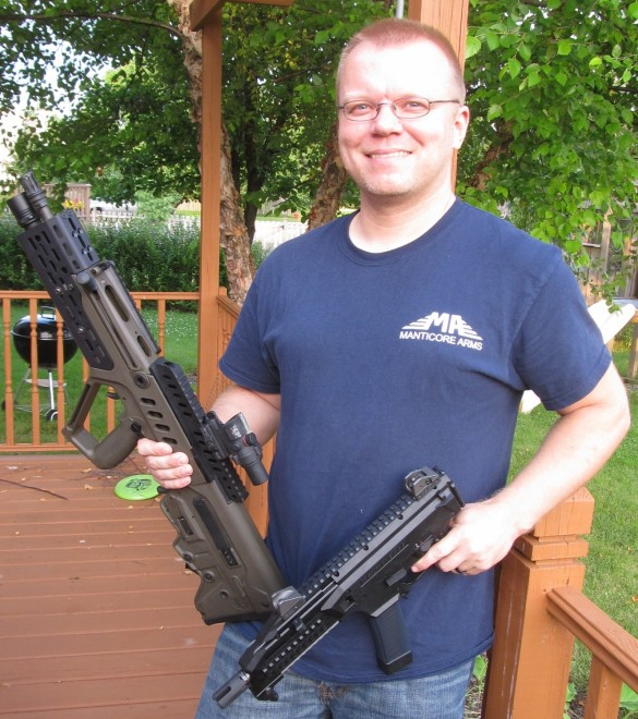 TFB Exclusive: Sven Jonsson of Manticore Arms -The Firearm Blog