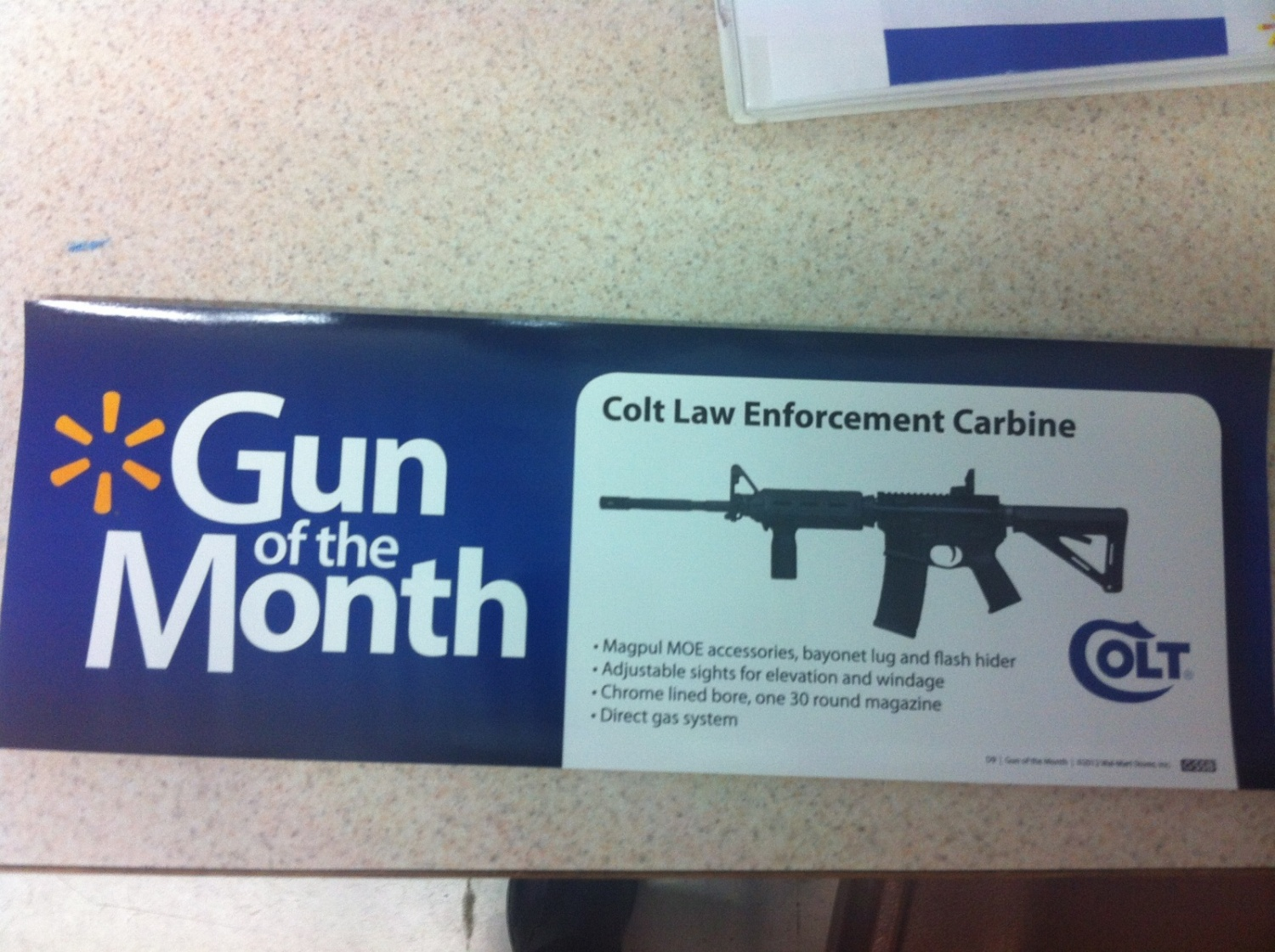 No more of these!