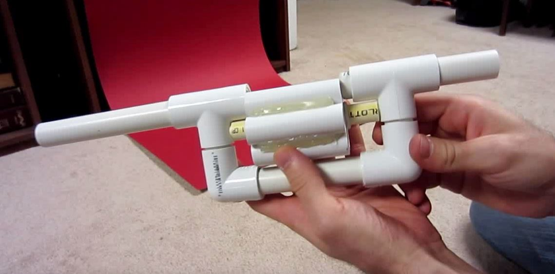 How To Make Your Own Revolver Blowgun The Firearm