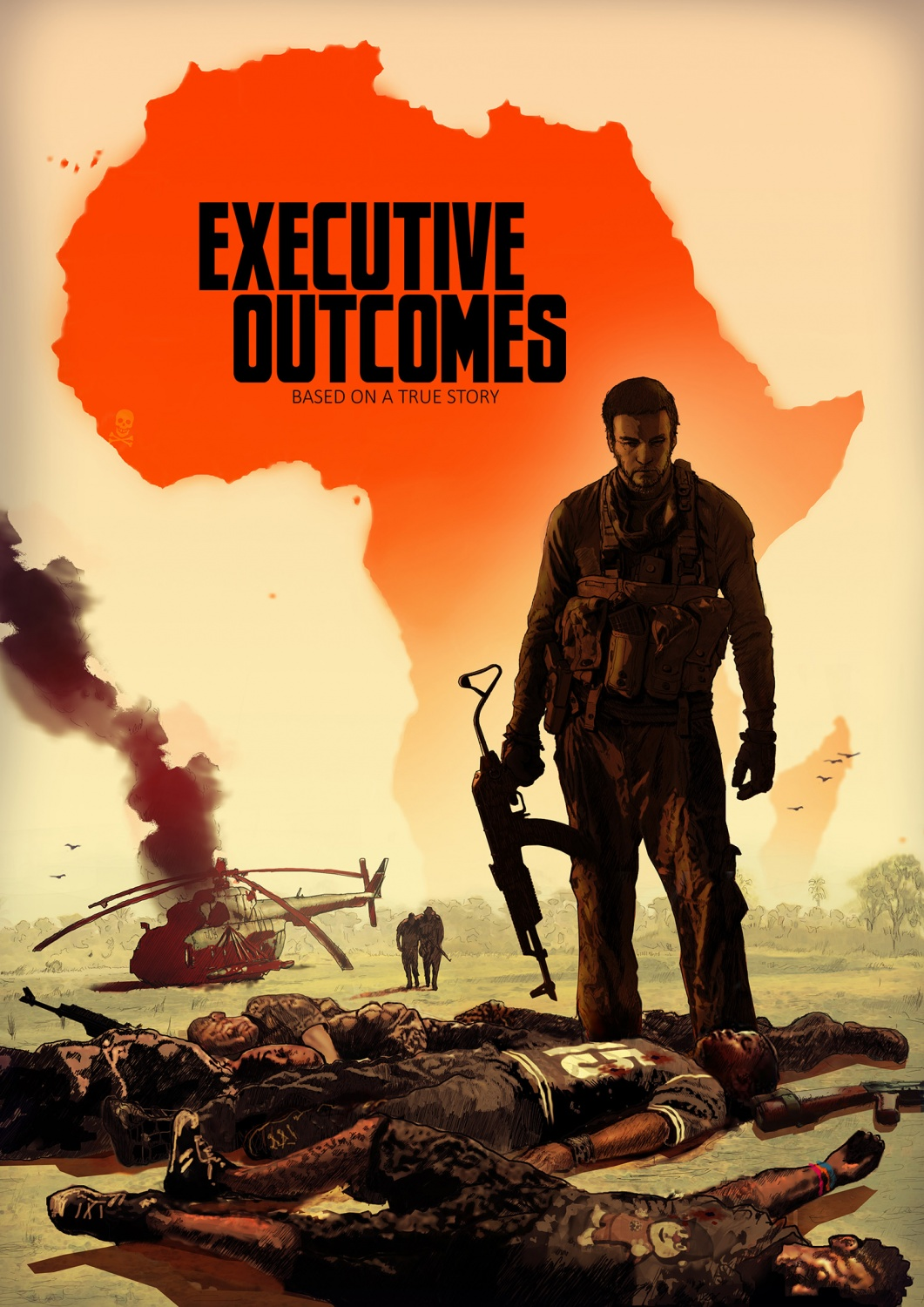 New Mercenary Fic Graphic Novel: Executive Outcomes, by ...