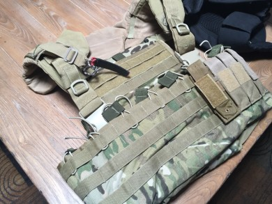 My favorite plate carrier, moon dust all pressure washed out...