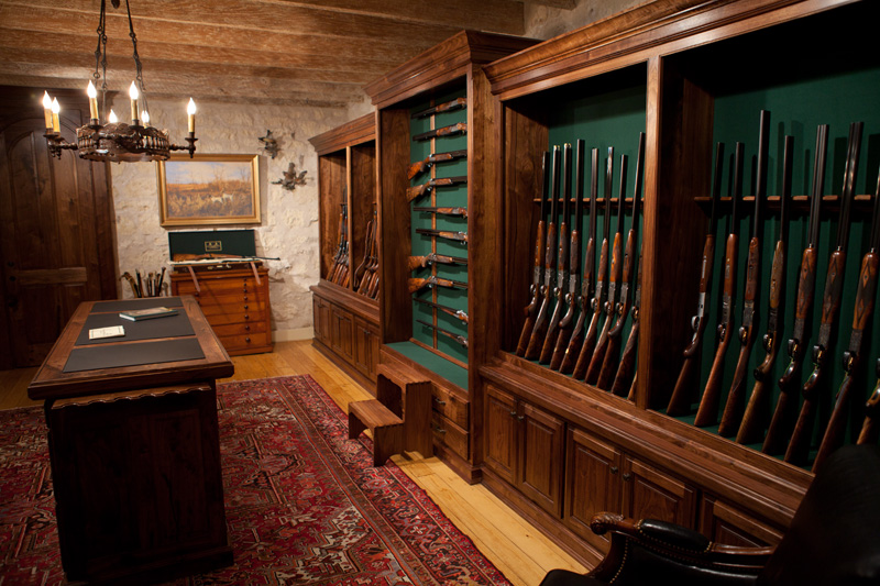 20 awesome gun rooms the firearm blogthe firearm blog for Walk in safe rooms