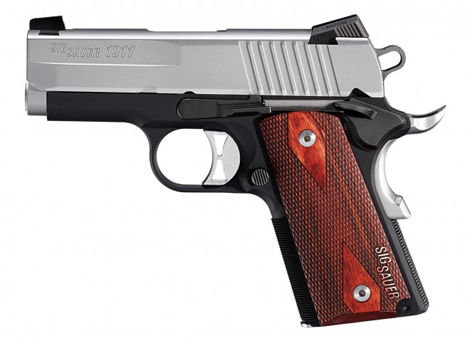 SIG SAUER Begins to Ship 1911 Ultra Compact in 9mm -The Firearm Blog