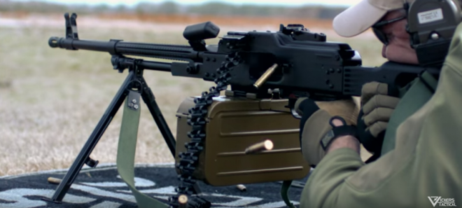 LAV Tackles a Bulgarian MG1M (PKM) Machine Gun -The Firearm Blog