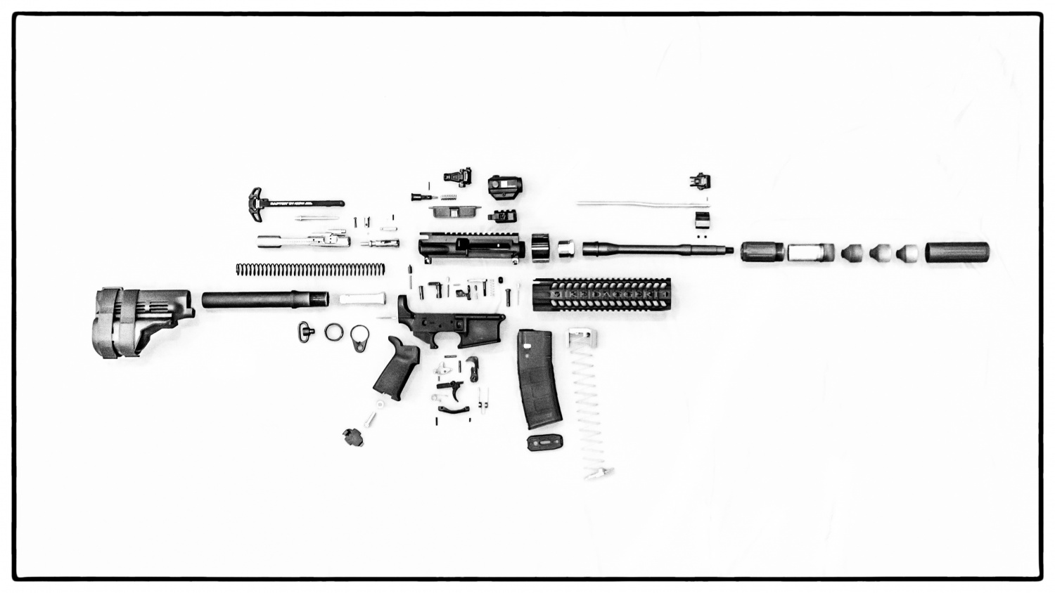 Ar 15 Parts Weights Database The Firearm Blog Diagram Besides Colt Series 80 1911 Assembly Diagrams On Pistol