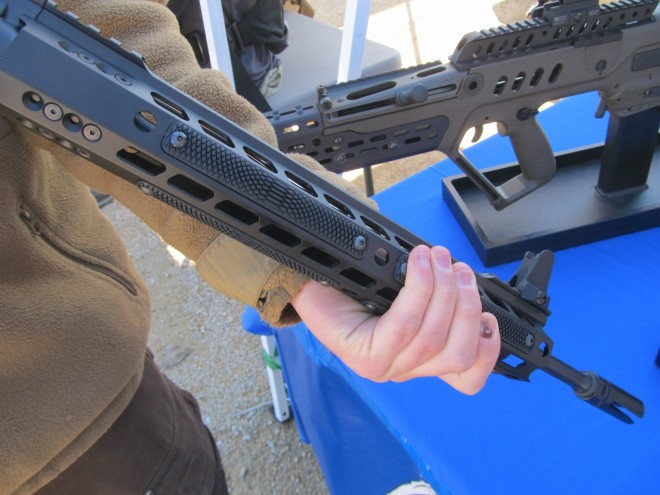 Game Changing Ar Handguard From Manticore The Firearm Blog