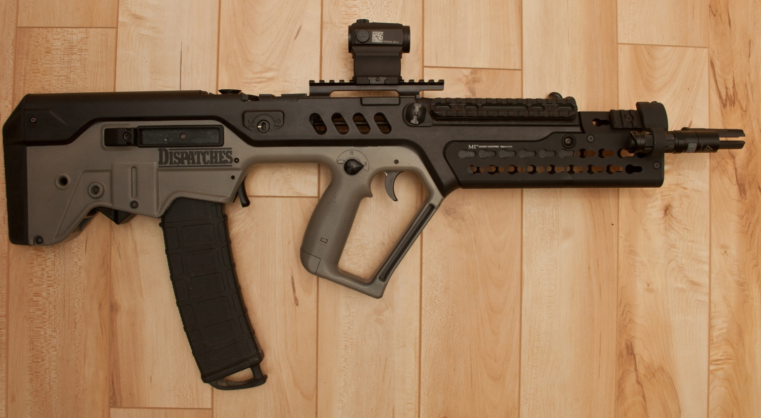 My initial low-light setup for the Tavor.