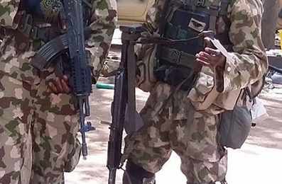 Image from National Helm, of some troopers with Army Strike Force 72 and their new Beryl rifles (from the first shipment).