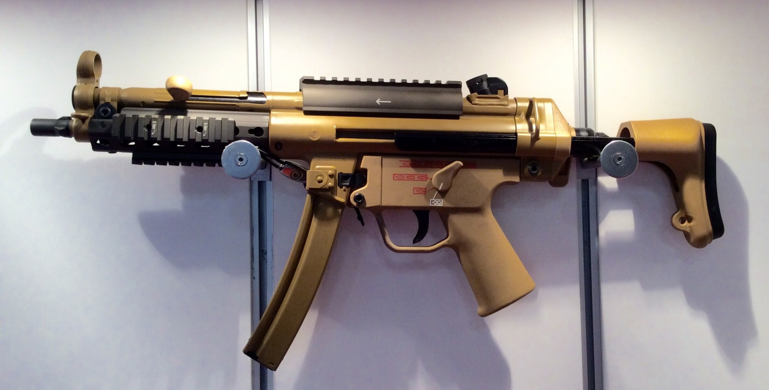 H&K Unveils Mid-Life Upgrades for MP5 SMG At AUSA - The