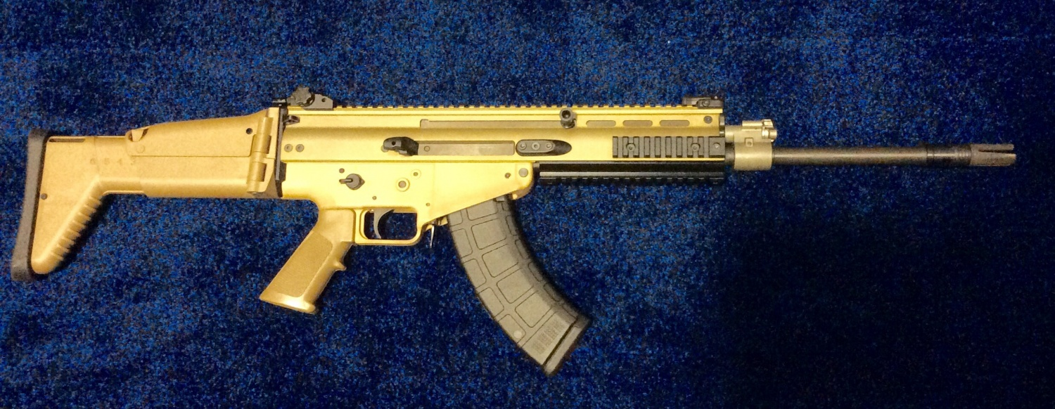 FNH USA Shows Off New 7.62×39 Mk. 17 SCAR Prototype