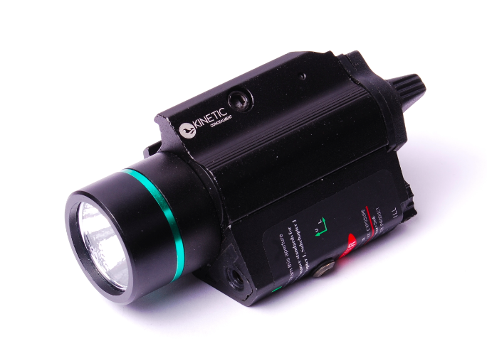 A very popular product.KC Green Laser LED Combo Green Laser with 200 LUMS Flashlight Item Number: GLC-01 - $79.99