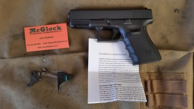 The trigger will be installed in this G23. Its been a faithful EDC all year.