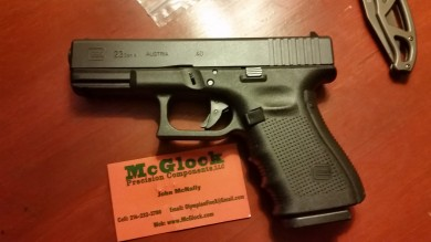 The McNally trigger's final resting place, the G23