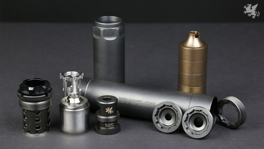 Universal Suppressor System From Griffin Armament The