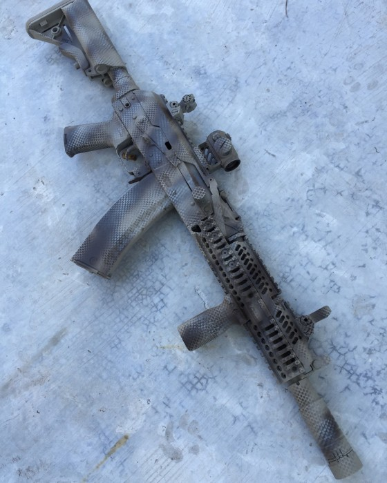 Weapons With Russian Paint Jobs