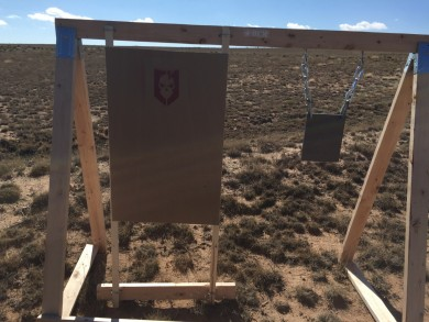 Tom Gomezs super sweet portable target stand.
