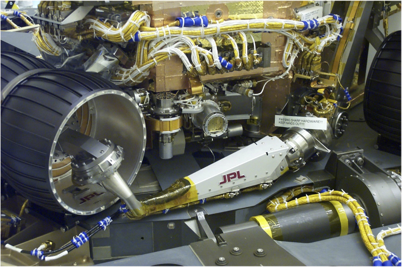NI contribution to the JPL Mars Rover