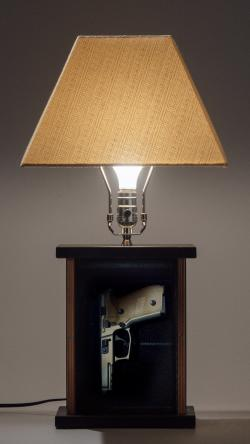 Cool Tactical Lamp Gun Storage At Home The Firearm Blog Onthecornerstone Fun Painted Chair Ideas Images Onthecornerstoneorg